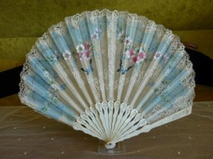 antique Fan 1890