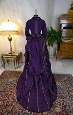 28 antique bustle dress 1874