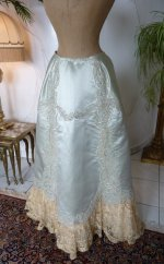 90 antique evening gown Worth 1894