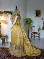 18 antique ball gown 1895