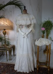 antique summer dress 1901