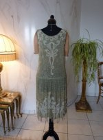 26 antique flapper dress 1925