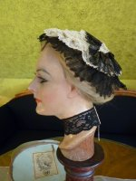 6 antique bonnet 1876