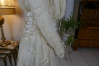 18 antique wedding dress Barcelona 1908