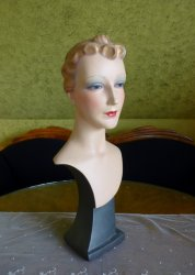 antique shop display mannequin 1930