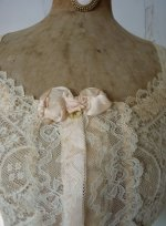 1 antique corset cover 1906