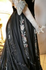 58 antique Gustave Beer gown 1906
