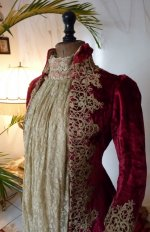 1 antique dress gown