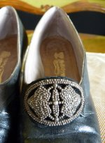6 antique shoes Hellstern 1905