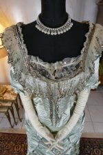 6 antique evening gown 1889