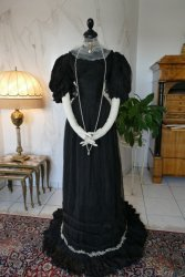 antique evening gown 1896