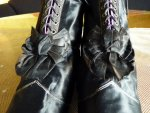 3 antique lace up boots 1867