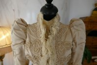 4 antique silk jacket 1895
