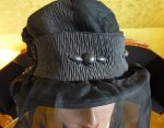 9 antique mourning hat 1910