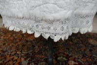 17 antique Biedermeier Petticoat 1840
