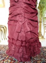 7 antique wedding gown 1878