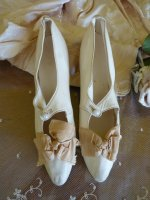 66 antique bridal shoes 1895