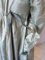 37 antique silk dress 1800