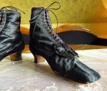 16 antique lace up boots 1867