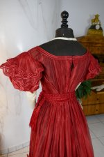 27 antique gauze dress 1828