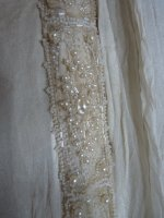 25a antique bridal gown