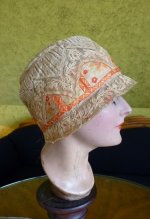 10 antique cloche hat 1927