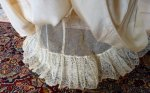 21 antique wedding gown