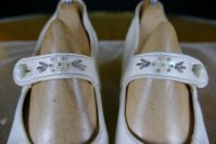 3 antique wedding shoes 1904