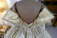 43 antique ball gown 1859