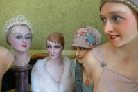 10 antique mannequins