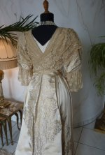 32 antikes Abendkleid Worth 1910