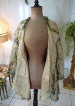100 antique silk jacket 1750