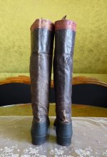 9 antique riding boots 1850