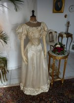 4 antique ball gown 1892