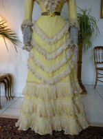 6 antique reception gown