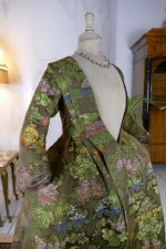 25 antique childs court dress 1760