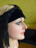 16 antique flapper headpice 1920