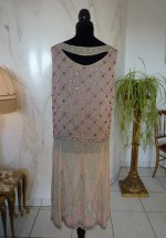 43a antique flapper dress 1926