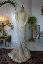 17 antique wedding gown