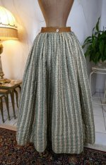 2 antique Biedermeier petticoat 1830