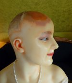 37 antique wax mannequin 1920