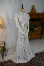 15 antique irish crochet dress 1904