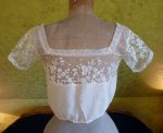 10 antique corset cover 1905
