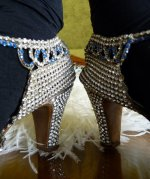 15 antique rhinestone shoes 1920