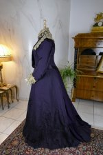 11 antique Madame Percy Visiting gown 1898
