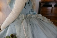 19 antique victorian ball gown 1859