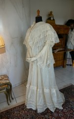 17 antique dressing gown 1890