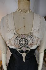 7 antique evening gown Nelmarie 1913