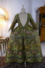 3 antique childs court dress 1760