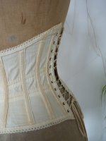 21 antique underbust corset 1900